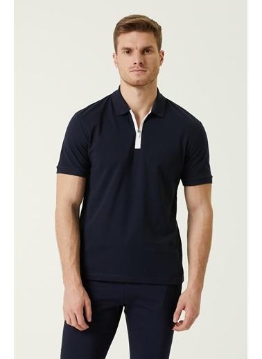 NetWork Erkek 1078321 Slim Fit Polo Yaka T-shirt Lacivert